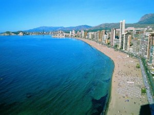 Playa de Levante- Foto de Benidorm.biz